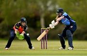 2 May 2021; Louise Little of Typhoons during the Arachas Super 50 Cup 2021 match between Typhoons and Scorchers at Pembroke Cricket Club in Dublin. Photo by Seb Daly/Sportsfile