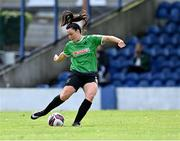 2 May 2021; Tiegan Ruddy of Peamount United during the SSE Airtricity Women's National League match between Treaty United and Peamount United at Jackman Park in Limerick. Photo by Piaras Ó Mídheach/Sportsfile