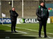 3 May 2021; Waterford manager Kevin Sheedy during the SSE Airtricity League Premier Division match between Shamrock Rovers and Waterford at Tallaght Stadium in Dublin. Photo by Seb Daly/Sportsfile
