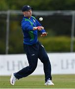 1 May 2021; Shane Getkate of North West Warriors during the Inter-Provincial Cup 2021 match between Leinster Lightning and North West Warriors at Pembroke Cricket Club in Dublin. Photo by Brendan Moran/Sportsfile