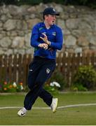 1 May 2021; Nathan McGuire of North West Warriors during the Inter-Provincial Cup 2021 match between Leinster Lightning and North West Warriors at Pembroke Cricket Club in Dublin. Photo by Brendan Moran/Sportsfile