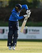 1 May 2021; Simi Singh of Leinster Lightning during the Inter-Provincial Cup 2021 match between Leinster Lightning and North West Warriors at Pembroke Cricket Club in Dublin. Photo by Brendan Moran/Sportsfile