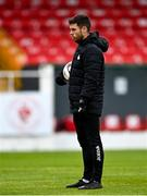 3 May 2021; Sligo Rovers assistant manager John Russell before the SSE Airtricity League Premier Division match between Sligo Rovers and St Patrick's Athletic at The Showgrounds in Sligo. Photo by Eóin Noonan/Sportsfile