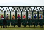 3 May 2021; A general view of runners and riders at the start of the Sentinel Ireland Handicap at The Curragh Racecourse in Kildare. Photo by Harry Murphy/Sportsfile