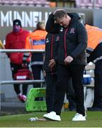3 May 2021; Dundalk sporting director Jim Magilton following his side's draw in the SSE Airtricity League Premier Division match between Longford Town and Dundalk at Bishopsgate in Longford. Photo by Ramsey Cardy/Sportsfile