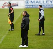 3 May 2021; Dundalk sporting director Jim Magilton during the SSE Airtricity League Premier Division match between Longford Town and Dundalk at Bishopsgate in Longford. Photo by Ramsey Cardy/Sportsfile