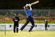 4 May 2021; George Dockrell plays a shot during the Inter-Provincial Cup 2021 match between Leinster Lightning and Northern Knights at Pembroke Cricket Club in Dublin. Photo by Matt Browne/Sportsfile