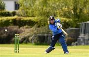4 May 2021; Jamie Grassi of Leinster Lightning plays a shot during the Inter-Provincial Cup 2021 match between Leinster Lightning and Northern Knights at Pembroke Cricket Club in Dublin. Photo by Matt Browne/Sportsfile