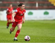 1 May 2021; Emily Whelan of Shelbourne during the SSE Airtricity Women's National League match between Shelbourne and DLR Waves at Tolka Park in Dublin. Photo by Eóin Noonan/Sportsfile