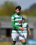 3 May 2021; Danny Mandroiu of Shamrock Rovers during the SSE Airtricity League Premier Division match between Shamrock Rovers and Waterford at Tallaght Stadium in Dublin. Photo by Seb Daly/Sportsfile