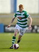 30 April 2021; Rory Gaffney of Shamrock Rovers during the SSE Airtricity League Premier Division match between Finn Harps and Shamrock Rovers at Finn Park in Ballybofey, Donegal. Photo by Stephen McCarthy/Sportsfile