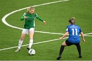 1 May 2021; Éabha O'Mahony of Cork City during the SSE Airtricity Women's National League match between Athlone Town and Cork City at Athlone Town Stadium in Athlone, Westmeath. Photo by Ramsey Cardy/Sportsfile