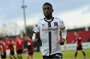 3 May 2021; Junior Ogedi-Uzokwe of Dundalk during the SSE Airtricity League Premier Division match between Longford Town and Dundalk at Bishopsgate in Longford. Photo by Ramsey Cardy/Sportsfile