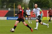 3 May 2021; Aodh Dervin of Longford Town during the SSE Airtricity League Premier Division match between Longford Town and Dundalk at Bishopsgate in Longford. Photo by Ramsey Cardy/Sportsfile