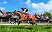 7 May 2021; Falcon Eight, with Frankie Dettori up, on their way to winning The tote+ Chester Cup Handicap Stakes at Chester Racecourse, England. Photo by Hugh Routledge/Sportsfile