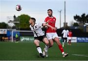 7 May 2021; Michael Duffy of Dundalk in action against Robbie McCourt of Sligo Rovers during the SSE Airtricity League Premier Division match between Dundalk and Sligo Rovers at Oriel Park in Dundalk, Louth. Photo by Ben McShane/Sportsfile