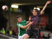7 May 2021; Darragh Crowley of Cork City in action against James Carroll of Wexford during the SSE Airtricity League First Division match between Cork City and Wexford at Turners Cross in Cork. Photo by Michael P Ryan/Sportsfile