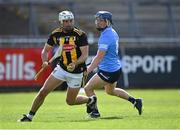 8 May 2021; Padraig Walsh of Kilkenny in action against David Keogh of Dublin during the Allianz Hurling League Division 1 Group B Round 1 match between Dublin and Kilkenny at Parnell Park in Dublin. Photo by Piaras Ó Mídheach/Sportsfile