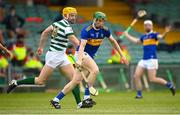 8 May 2021; Brian McGrath of Tipperary in action against Séamus Flanagan of Limerick during the Allianz Hurling League Division 1 Group A Round 1 match between Limerick and Tipperary at LIT Gaelic Grounds in Limerick. Photo by Stephen McCarthy/Sportsfile