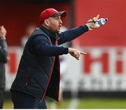 8 May 2021; St Patrick's Athletic head coach Stephen O'Donnell during the SSE Airtricity League Premier Division match between St Patrick's Athletic and Shamrock Rovers at Richmond Park in Dublin. Photo by Harry Murphy/Sportsfile
