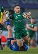 8 May 2021; Caolin Blade of Connacht is tackled by Hugo Keenan of Leinster during the Guinness PRO14 Rainbow Cup match between Connacht and Leinster at The Sportsground in Galway.  Photo by Brendan Moran/Sportsfile