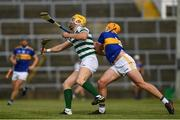 8 May 2021; Séamus Flanagan of Limerick in action against Ronan Maher of Tipperary during the Allianz Hurling League Division 1 Group A Round 1 match between Limerick and Tipperary at LIT Gaelic Grounds in Limerick. Photo by Ray McManus/Sportsfile