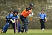 9 May 2021; Leah Paul of Scorchers bats during the third match of the Arachas Super 50 Cup between Scorchers and Typhoons at Rush Cricket Club in Rush, Dublin. Photo by Harry Murphy/Sportsfile