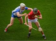 9 May 2021; Darragh Fitzgibbon of Cork in action against Jack Fagan of Waterford during the Allianz Hurling League Division 1 Group A Round 1 match between Cork and Waterford at Páirc Ui Chaoimh in Cork. Photo by Stephen McCarthy/Sportsfile