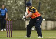 9 May 2021; Jenny Sparrow of Scorchers during the third match of the Arachas Super 50 Cup between Scorchers and Typhoons at Rush Cricket Club in Rush, Dublin. Photo by Harry Murphy/Sportsfile