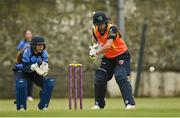 9 May 2021; Lara Maritz of Scorchers bats during the third match of the Arachas Super 50 Cup between Scorchers and Typhoons at Rush Cricket Club in Rush, Dublin. Photo by Harry Murphy/Sportsfile