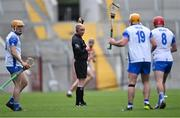 9 May 2021; Referee Seán Cleere during the Allianz Hurling League Division 1 Group A Round 1 match between Cork and Waterford at Páirc Ui Chaoimh in Cork. Photo by Piaras Ó Mídheach/Sportsfile