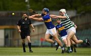 8 May 2021; Jason Forde of Tipperary in action against Kyle Hayes of Limerick during the Allianz Hurling League Division 1 Group A Round 1 match between Limerick and Tipperary at LIT Gaelic Grounds in Limerick. Photo by Ray McManus/Sportsfile