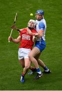 9 May 2021; Patrick Horgan of Cork in action against Conor Prunty of Waterford during the Allianz Hurling League Division 1 Group A Round 1 match between Cork and Waterford at Páirc Ui Chaoimh in Cork. Photo by Stephen McCarthy/Sportsfile