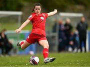 9 May 2021; Emily Whelan of Shelbourne during the SSE Airtricity Women's National League match between Treaty United and Shelbourne at Jackman Park in Limerick. Photo by Eóin Noonan/Sportsfile