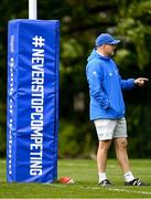 10 May 2021; Backs coach Felipe Contepomi during Leinster Rugby squad training at UCD in Dublin. Photo by Ramsey Cardy/Sportsfile