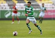 8 May 2021; Danny Mandroiu of Shamrock Rovers during the SSE Airtricity League Premier Division match between St Patrick's Athletic and Shamrock Rovers at Richmond Park in Dublin. Photo by Harry Murphy/Sportsfile