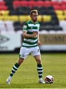 8 May 2021; Sean Hoare of Shamrock Rovers during the SSE Airtricity League Premier Division match between St Patrick's Athletic and Shamrock Rovers at Richmond Park in Dublin. Photo by Harry Murphy/Sportsfile