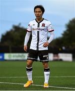 7 May 2021; Han Jeongwoo of Dundalk during the SSE Airtricity League Premier Division match between Dundalk and Sligo Rovers at Oriel Park in Dundalk, Louth. Photo by Ben McShane/Sportsfile