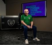 12 May 2021; Announced as one of the first ever representatives of the official Republic of Ireland eFootball team today was the #1 ranked FIFA 21 Xbox player in Ireland Eric Finn at the FAI Headquarters in Abbotstown, Dublin. Photo by Harry Murphy/Sportsfile