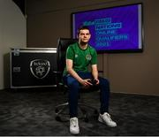 12 May 2021; Announced as one of the first ever representatives of the official Republic of Ireland eFootball team today was FAI eCup Champion Conran Tobin at the FAI Headquarters in Abbotstown, Dublin. Photo by Harry Murphy/Sportsfile