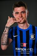 10 May 2021; Brandon McCann during an Athlone Town FC portrait session at Athlone Town Stadium in Athlone, Westmeath. Photo by Eóin Noonan/Sportsfile
