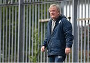 14 May 2021; Suspended Finn Harps manager Ollie Horgan during the SSE Airtricity League Premier Division match between Finn Harps and Dundalk at Finn Park in Ballybofey, Donegal. Photo by Stephen McCarthy/Sportsfile