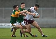 15 May 2021; Shane Walsh of Galway is tackled by Paul Murphy and Paul Geaney of Kerry during the Allianz Football League Division 1 South Round 1 match between Kerry and Galway at Austin Stack Park in Tralee, Kerry. Photo by Brendan Moran/Sportsfile