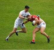 15 May 2021; Ciarán Sheehan of Cork in action against Mick O'Grady of Kildare during the Allianz Football League Division 2 South Round 1 match between Cork and Kildare at Semple Stadium in Thurles, Tipperary. Photo by Daire Brennan/Sportsfile