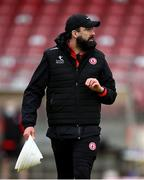 15 May 2021; Tyrone selector Joe McMahon during the Allianz Football League Division 1 North Round 1 match between Tyrone and Donegal at Healy Park in Omagh, Tyrone. Photo by Stephen McCarthy/Sportsfile