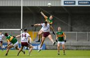 15 May 2021; Diarmuid O'Connor of Kerry in action against Paul Conroy of Galway during the Allianz Football League Division 1 South Round 1 match between Kerry and Galway at Austin Stack Park in Tralee, Kerry. Photo by Brendan Moran/Sportsfile