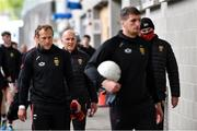 15 May 2021; Down manager Paddy Tally makes his way to the pitch before the Allianz Football League Division 2 North Round 1 match between Mayo and Down at Elverys MacHale Park in Castlebar, Mayo. Photo by Piaras Ó Mídheach/Sportsfile
