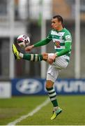 15 May 2021; Graham Burke of Shamrock Rovers during the SSE Airtricity League Premier Division match between Shamrock Rovers and Derry City at Tallaght Stadium in Dublin. Photo by Seb Daly/Sportsfile