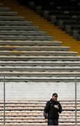 16 May 2021; Kilkenny manager Brian Cody issues instructions to his players during the Allianz Hurling League Division 1 Group B Round 2 match between Kilkenny and Antrim at UPMC Nowlan Park in Kilkenny. Photo by Brendan Moran/Sportsfile