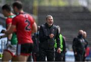 15 May 2021; Mayo manager James Horan during the Allianz Football League Division 2 North Round 1 match between Mayo and Down at Elverys MacHale Park in Castlebar, Mayo. Photo by Piaras Ó Mídheach/Sportsfile